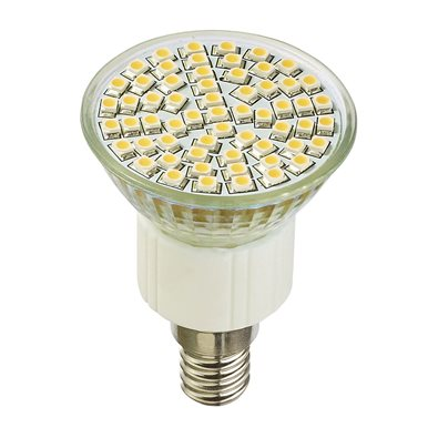 Ampoule LED SMD E14 4W (eq. 35 W) - 120° Dimmable