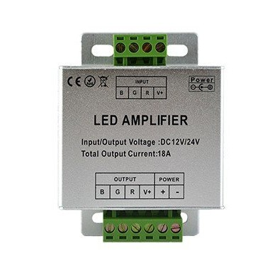 Amplificateur bandeau LED RGB | Led Flash
