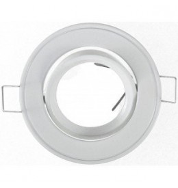 Support spot rond orientable 86mm | Led-Flash