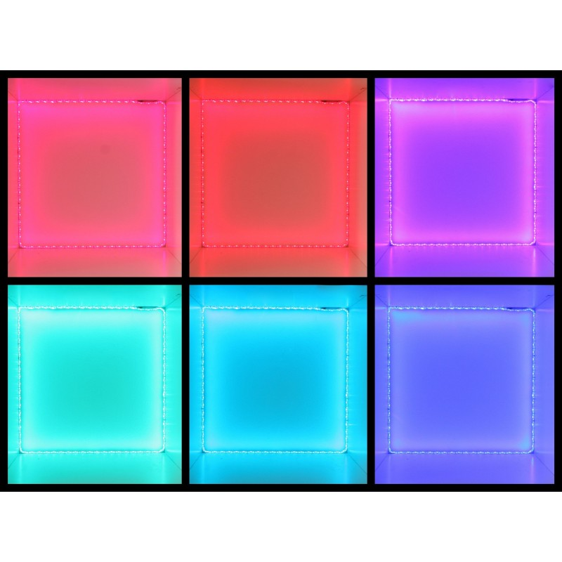 kit bandeau led rgb tanche 3 m tres 43 watt. Black Bedroom Furniture Sets. Home Design Ideas