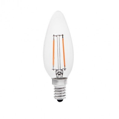 Ampoule led E14 filament 2W (eq. 21W) | Led-Flash