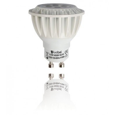 Spot LED GU 10 6,5 watt Lucibel | Led Flash