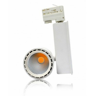 Spot led sur rail 30 watt (eq. 280W) orientable