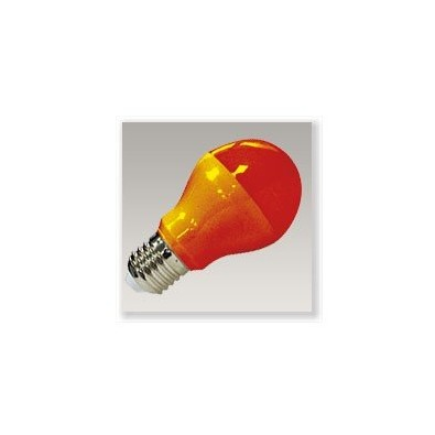 Ampoule led E27 9 watt de couleur rouge | Led Flash