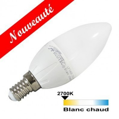 Ampoule led flamme E14 6 watt (eq. 40 watt) dimmable | Led-Flash