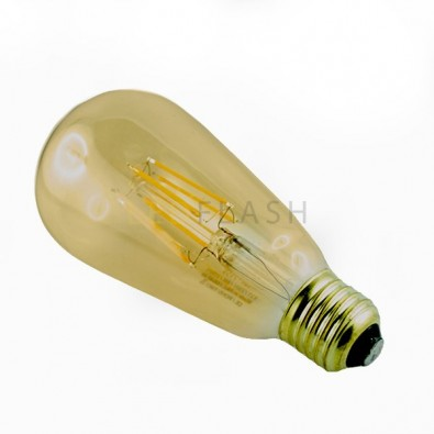 Ampoule led E27 filament ST64 8 watt (eq. 70 watt)
