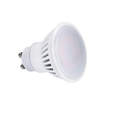 Spot led GU10 7 watt (eq. 60 watt) Finition Blanc | Led Flash