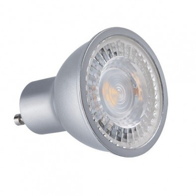 Spot led GU10 7 watt 36° - finition grise | Led-Flash