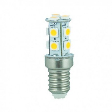 Ampoule led E27 12V/24V 2,5 watt (eq. 20 watt) 13 leds