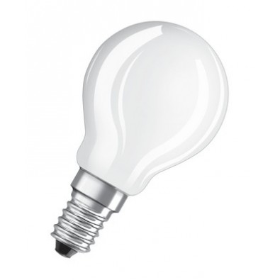 Ampoule led Sphérique E14 4 watt (eq. 40 watt) Non Dimmable Retrofit OSRAM