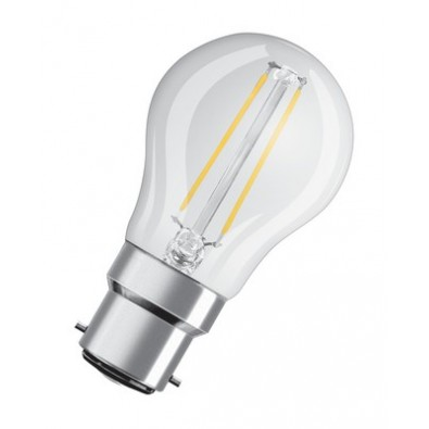 Ampoule led Sphérique B22 2,1 watt (eq. 25 watt) Non Dimmable Retrofit OSRAM