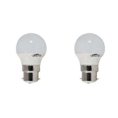 Pack de 2 ampoules led B22 4 watt (eq. 30 watt)