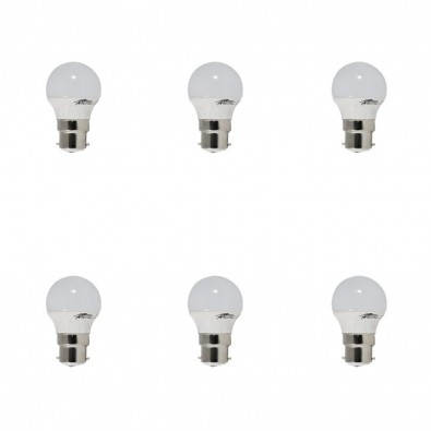 Lot de 6 ampoules led B22 4 watt (eq. 30 watt) | Led Flash