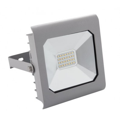 Projecteur LED 20 watt IP 65 finition grise | Led Flash