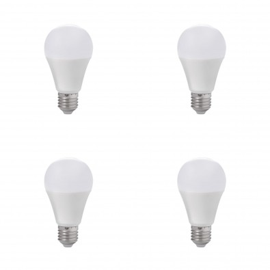 Lot de 4 ampoules led E27 12 watt (eq. 75 watt) | Led Flash