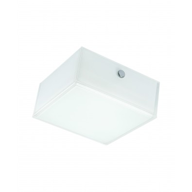 LUNIVE QUADRO 8 watt - applique ou plafonnier LED 110x110mm