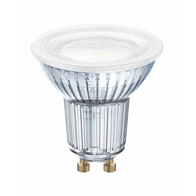 Spot LED GU10 PAR16 120° verre 6,9 watt (eq. 80W)