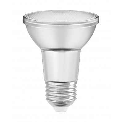 Spot LED E27 PAR20 36° verre variable 5 watt (eq. 50W) E27 blanc chaud