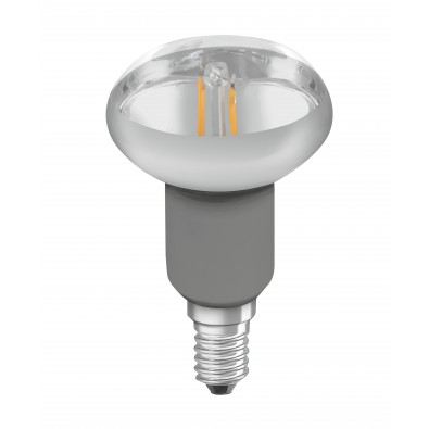 Spot LED E14 R50 verre clair variable 3,5 watt (eq. 40W) E14 blanc chaud