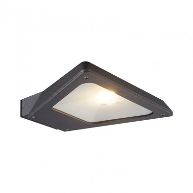Applique Murale Triangle Vert LED 10W 230V Anthracite IP54