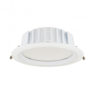 Downlight LED Blanc Rond 28 Watt IP20