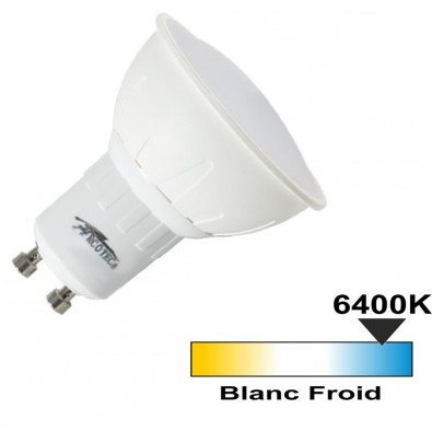 Spot LED GU10 3W (eq. 30W) Blanc Froid | Led Flash